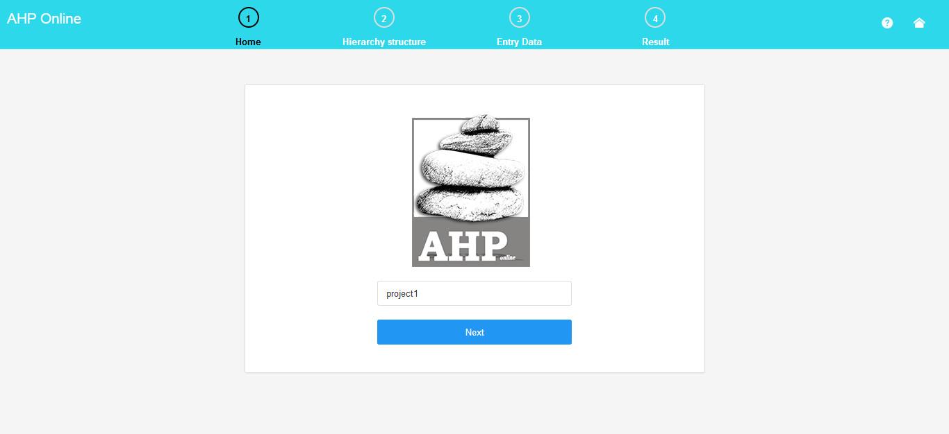 enter name - fuzzy ahp software